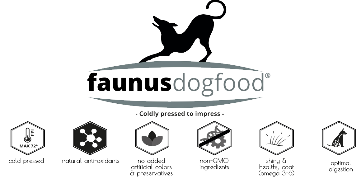 Faunus Dogfood: cold pressed to impress!